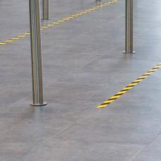 SERIE HAS | BANDE PVC ADHESIVE GRANULEUSE ET ANTIDERAPANTE